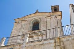 Church of Carmine. Minervino Murge. Puglia. Italy. Stock Image