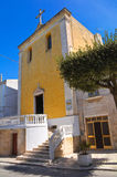 Church of Carmine. Mottola. Puglia. Italy. Royalty Free Stock Photography