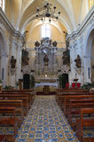 Church of Carmine. Presicce. Puglia. Italy. Royalty Free Stock Images