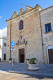 Church of Carmine. Presicce. Puglia. Italy. Stock Photos