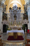 Church of Carmine. Presicce. Puglia. Italy. Royalty Free Stock Photo