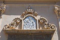 Church of Carmine. San Severo. Puglia. Italy. Royalty Free Stock Image
