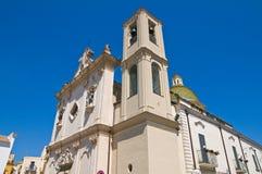 Church of Carmine. San Severo. Puglia. Italy. Royalty Free Stock Photos