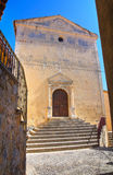 Church of Carmine. Scalea. Calabria. Italy. Royalty Free Stock Image