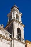 Church of Carmine. Torremaggiore. Puglia. Italy. Stock Photos