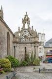 Church in Carnac Stock Image