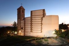Church in Casares, Spain Royalty Free Stock Photos