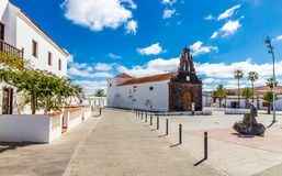 Church In Casillas Del Angel, Fuerteventura, Spain Stock Image