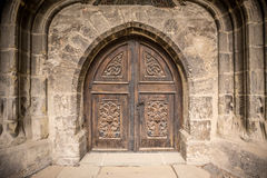 Church or castle door Stock Image