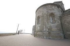 Church of a castle from the Middle Ages. Stock Images