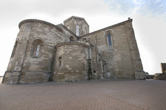 Church of a castle from the Middle Ages. Royalty Free Stock Photos