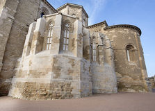 Church of a castle from the Middle Ages. Stock Photo