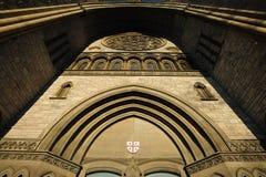 Church cathedral door Royalty Free Stock Photos