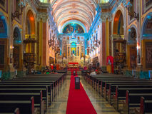 Church Cathedral. Interior of Church Cathedral (Igreja da Se) in Belem - Brazil - This church is the starting point for the famous procession of Cirio of Nazare Royalty Free Stock Image