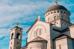 Church Cathedral of the Resurrection of Christ in Podgorica Royalty Free Stock Photography