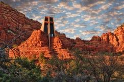 Church at Cathedral Rock Royalty Free Stock Photo