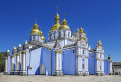 Church Cathedral. St. Michael's Golden-Domed Monastery. Kiev Royalty Free Stock Photography