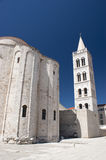 Church and Cathedral in Zadar Royalty Free Stock Images