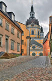 Church of Catherine. In Stockholm royalty free stock photography