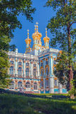 Church of the Catherine Palace in Pushkin city. Church of the Catherine Palace in Pushkin, St. Petersburg, Russia Stock Photos