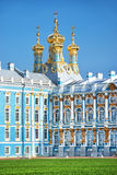 Church of Catherine's palace in Pushkin, Russia Royalty Free Stock Images