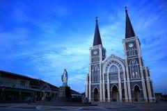 Church. Catholic in Chanthaburi province Thailand royalty free stock photos