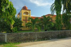 Church. Catholic church on the island of Siargao,Philippines Royalty Free Stock Photography