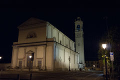 Church. Catholic church in italy Corbetta Milan Stock Photos