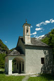 Church. Catholic church in italy in Mountain Pedemont Royalty Free Stock Photography