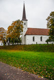 Church catolic colorful autumn Stock Image