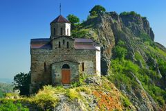 Church in Caucasus Stock Photography