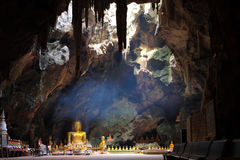 Church in cave Royalty Free Stock Image