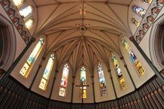 Church ceiling Stock Photo