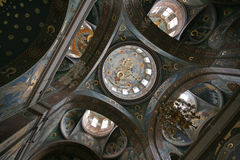 Church ceiling artwork Stock Photo