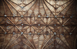 Church ceiling Fitzalan Chapel England Royalty Free Stock Photo