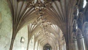 Church Ceilings. At Canterbury, UK stock photos