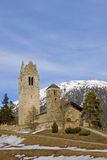 Church in Celerina Stock Images