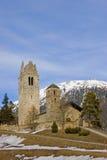 Church in Celerina Stock Images