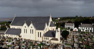 Church And Cemetery Adara County Donegal Ireland Stock Photography