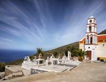 Church Cemetery Crete Greece Stock Images