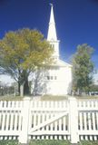 A church and cemetery in Little Compton Rhode Island Stock Photography