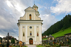 Church and cemetery of the Sesto Royalty Free Stock Photos