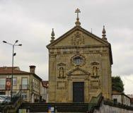 The church in center of Braga Stock Image