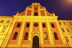 Church in the center of Kalisz Stock Photography