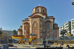 Church in the center of  town of Xanthi, East Macedonia and Thrace Royalty Free Stock Photos