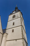 Church at the central market square of Detmold. Germany stock photos