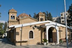 Church in the centre Nicosia Royalty Free Stock Photography