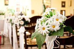Church before ceremony of the first holy communion Royalty Free Stock Photo