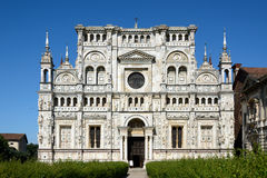 Church of Certosa di Pavia Stock Photos