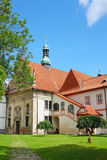 Church in cesky krumlov Royalty Free Stock Photo